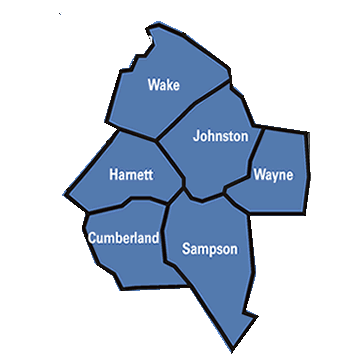 Service Counties